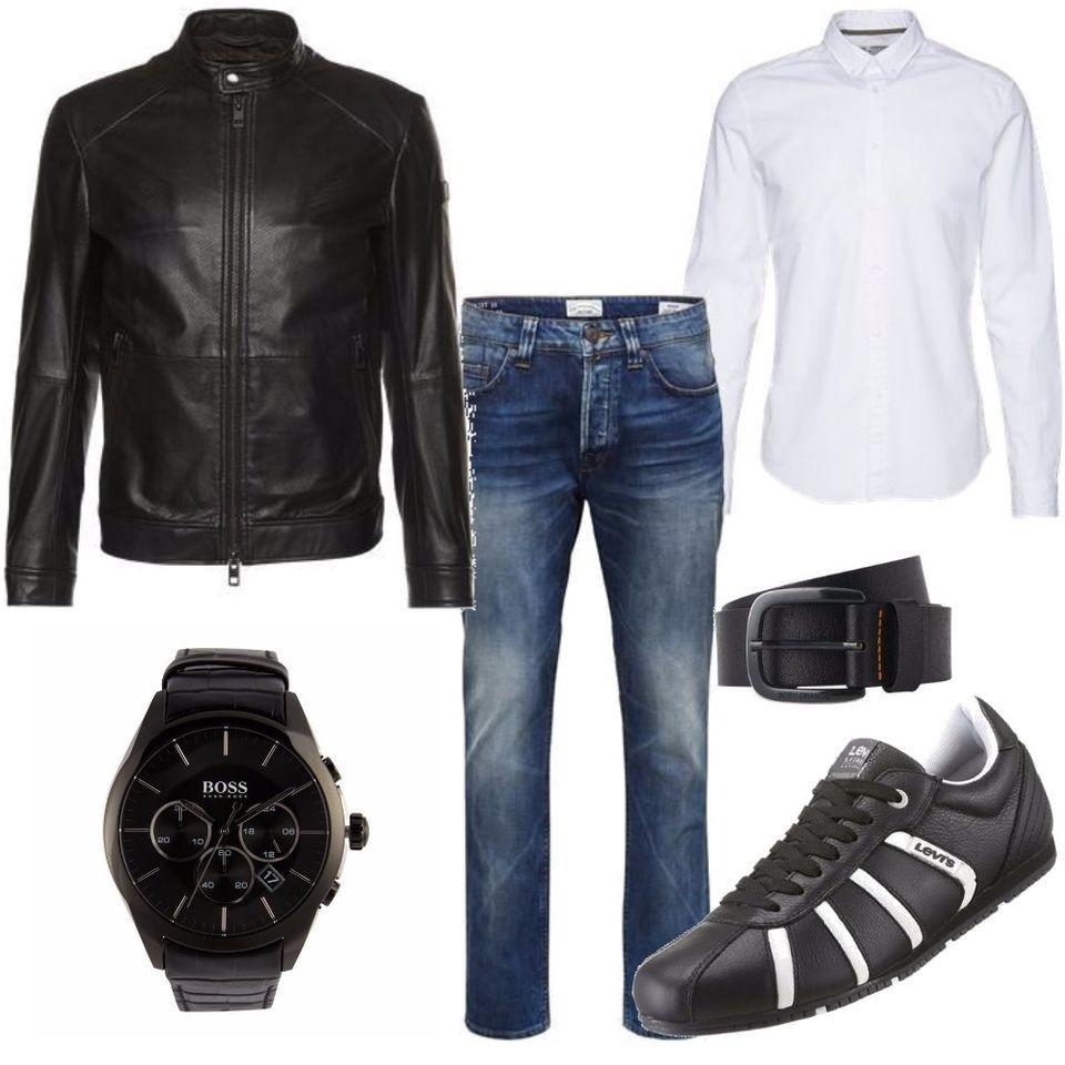 boss m nner outfit outfit f r herren zum nachshoppen auf stylaholic. Black Bedroom Furniture Sets. Home Design Ideas